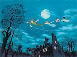 peter pan flying